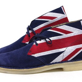 Clarks - 60th Union Jack Desert Boots