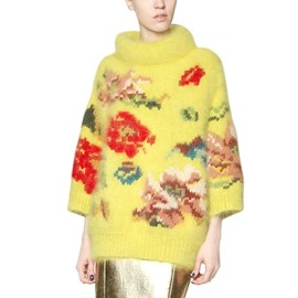 ANTONIO MARRAS - OVERSIZE ANGORA KNIT SWEATER