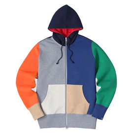 LOOPWHEELER - LW Light High-neck Hoodie 2013 Multi-color