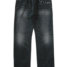 PEEL&LIFT - Studs Denim Pants (black)