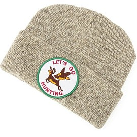 masterpiece - KNIT CAP (LETS GO HUNTING)