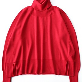 MM6 Maison Margiela - Gauge 12/Basic Wool Turtle (scarlet)