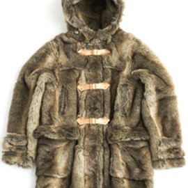 bal - Imitation Fur Duffel Coat