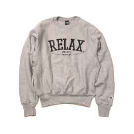 RELAX ORIGINAL® - Basic Logo Crew Neck [Champion Body]