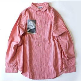 PEEL&LIFT - red stripe marx shirt
