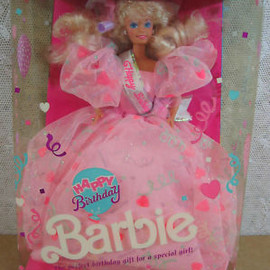 MATTEL - 1990 Happy Birthday Barbie Doll