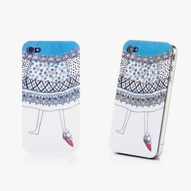hallomall - Original Design Waving Skirt Iphone 4/4S Case