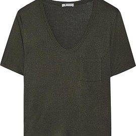 T by Alexander Wang - Jersey T-shirt