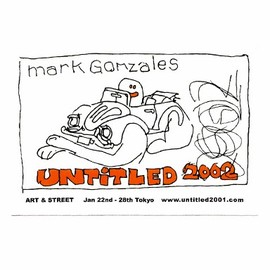 Mark Gonzales - STICKER