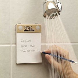 AquaNotes - Waterproof Paper Notepad