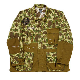 Porter Classic - H/W CAMO FATIGUE JACKET