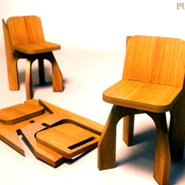 Rafael Morgan - Puzzle Chair