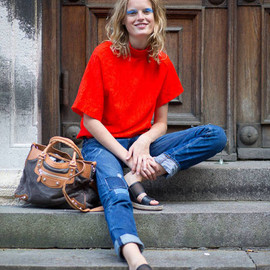 Hanne Gaby Odiele - fashion snap