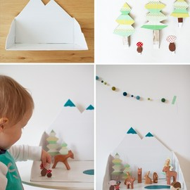 Winter forest diy - Bloesem Kids