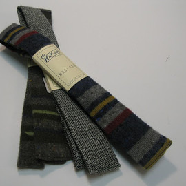 The Hill-Side Selvedge Cotton Chambray Tie