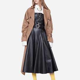 beautiful people - ultimate pima twill couture trench coat