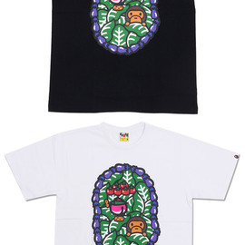 A BATHING APE - MILO VEGITABLE TEE