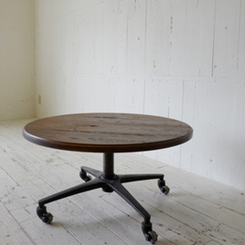 TRUCK FURNITURE - JACKSON ROUND LOW TABLE