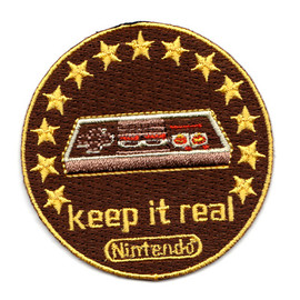 Nintendo - Nintendo Keep It Real ワッペン