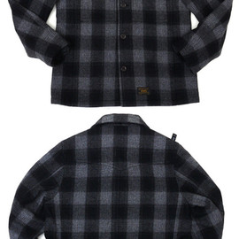 WTAPS - WTAPSCPOジャケット[CPOJACKET.WOOL.MELTON.TEXTILE]GRAY230-000720-042x【新品】【smtb-TD】【yokohama】