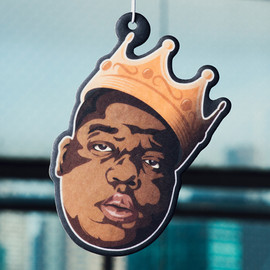 HANGING WITH THE HOMIES - KING OF NY AIR FRESHENER