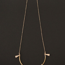 mother - TINY GOLD NECKLACE