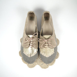 ele handmade - The Fringed Oxfords - Handmade Shoes