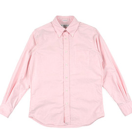 INDIVIDUALIZED SHIRTS - BD Shirts Standard Fit Cambridge Oxford-Pink