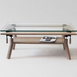 nonlinear studio - CLAMP COFFEE TABLE