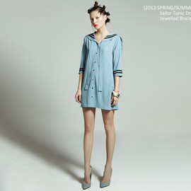 fleamadonna - [2013 s/s] Sailor Tunic Dress