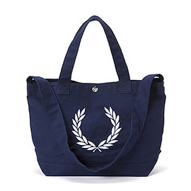FRED PERRY - Laurel Wreath Canvas Tote Bag