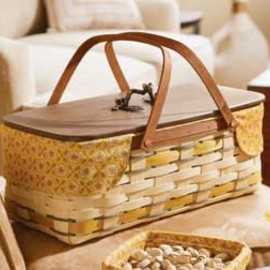 Longaberger - Long Market Basket Set