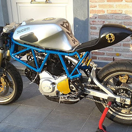 Ducati - SS 900 by @bp_caferacer