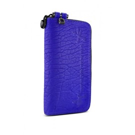 parabellum - Large Courier Wallet - Violet / BLACK
