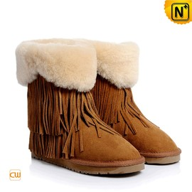 CWMALLS - Fringe Snow Boots for Women CW314425
