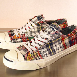 CONVERSE × J CREW - Madras Jack Purcell