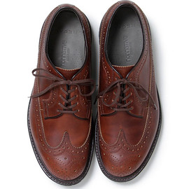 nonnative - DWELLER SHOES WINGTIP Chromexcel LEATHER by REGAL