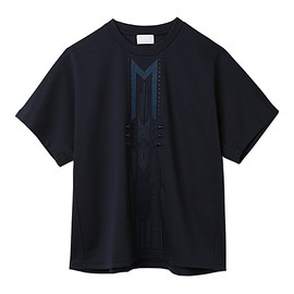 mame - Tribal Embroidery T-Shirt