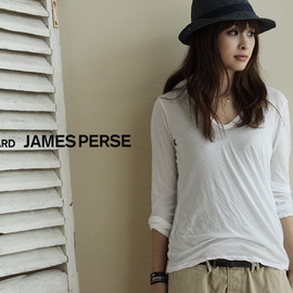 JAMES PERSE - Vネックカットソー
