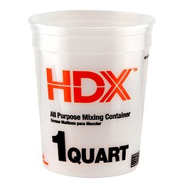 The Home Depot - HDX 1 qt. Natural Multi-Mix Container