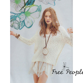 Free People - V-neck Pullover