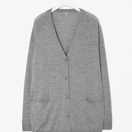 COS - fine-knit cardigan