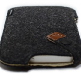 MacBook Air leather case