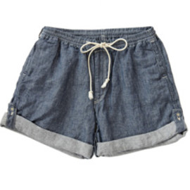 PHINGERIN - Roll Up Shorts  (navy)