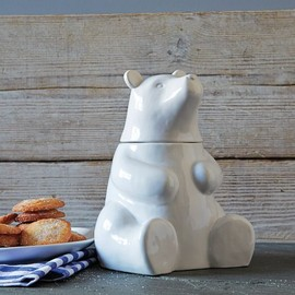 west elm - Bear Cookie Jar