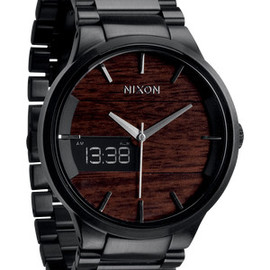 NIXON - The Spencer in Dark Wood / Black