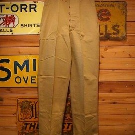 vintage - 40's US ARMY OFFICER TROUSERS