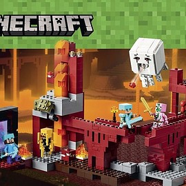 LEGO - レゴ マインクラフト ネザー 21122 LEGO Minecraft 21122 the Nether Fortress Building Kit