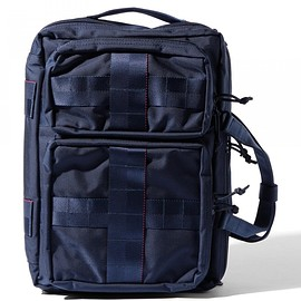 "BRIEFING - 【予約】BRIEFING×BEAMS PLUS / 別注  ""3WAY BAG""NAVY"