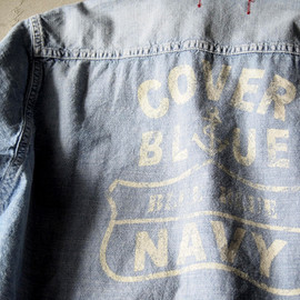BLUEBLUE - COVERBLUE CHAMBRAY SHIRT